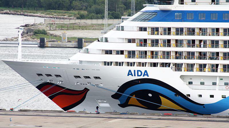 Корабль по имени AIDA